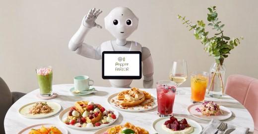 Japonya'da Robotların Çalıştığı Bir Kafe Açıldı