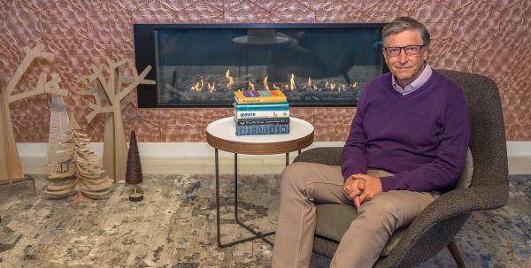 Bill Gates'ten 2020 İçin 5 Kitap Önerisi