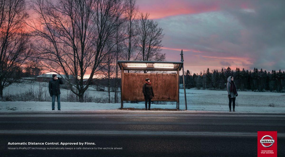 Nissan'dan Mesafeyi Seven Finlilere Özel Reklam Kampanyası