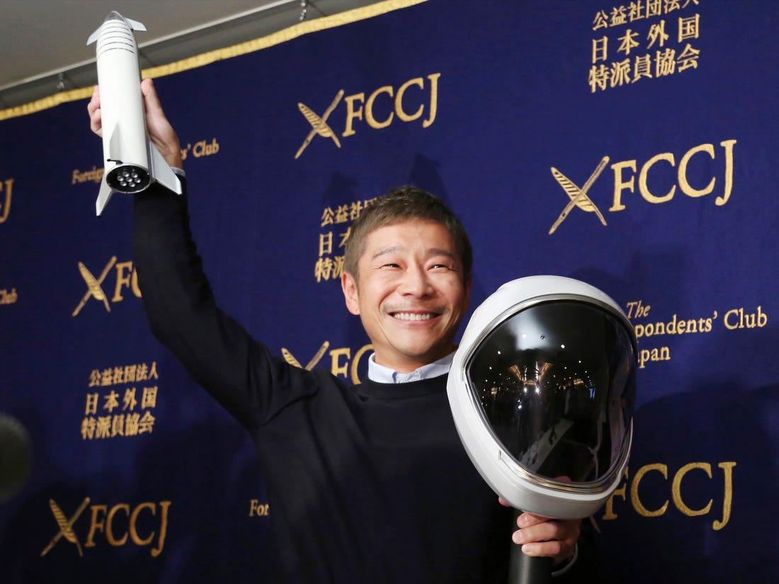 Japon Milyarder, Birlikte Ay'a Yolculuk Yapacağı Hayat Arkadaşını İnternette Arıyor