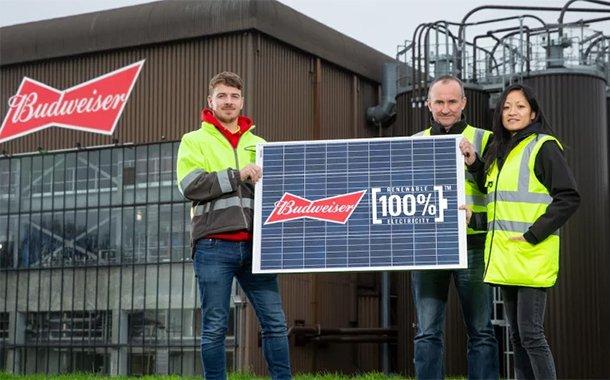 Budweiser, Güneş Enerjisiyle Bira Üretmek için Alman Bir Şirketle Anlaştı