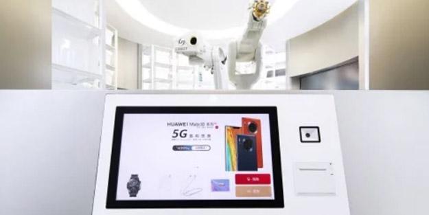 Huawei İlk İnsansız Mağazasını Açtı