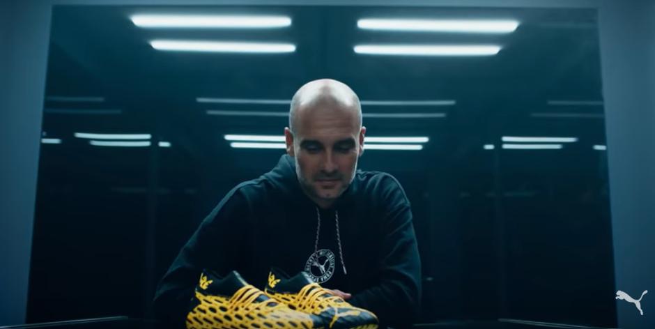 Puma'dan Pep Guardiola'lı Yeni Reklam Filmi