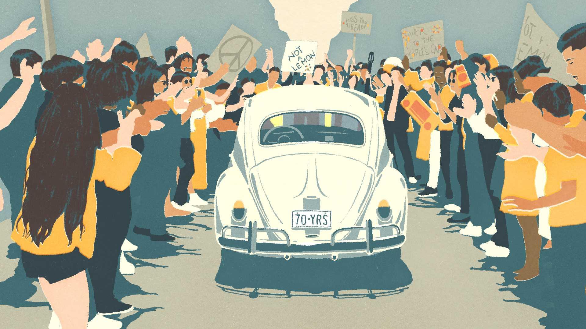 Volkswagen Beetle'a Duygusal Bir Video ile Veda Etti