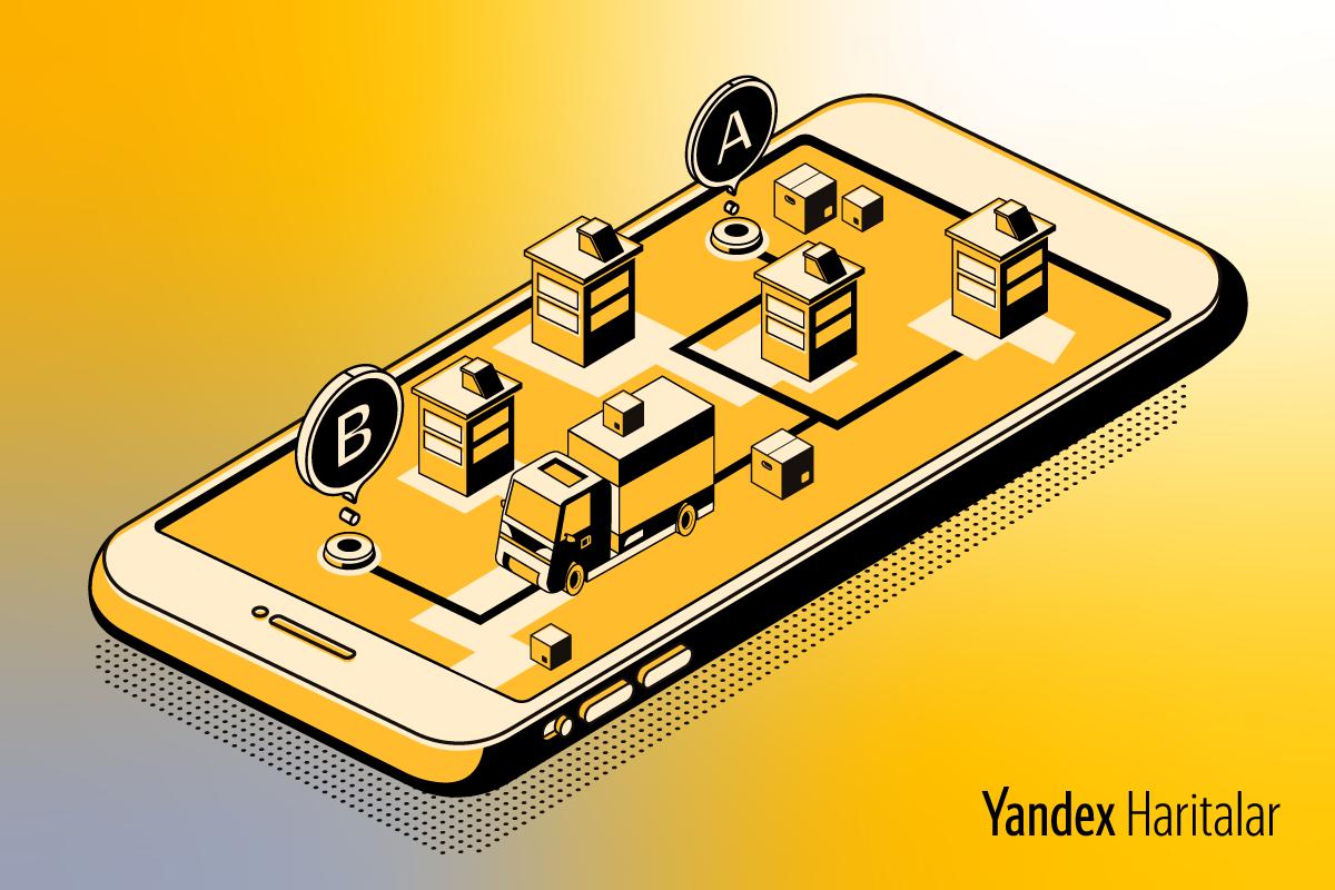 """Yandex Haritalar'a, Tedarik Zincirlerine Yönelik """"Rota Optimizasyonu"""" Özelliği Geldi"""