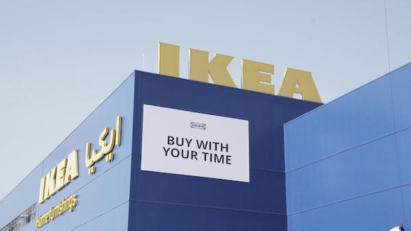IKEA, Mağazaya Ulaşırken Harcanan Zamanı İndirime Dönüştürüyor