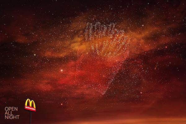 McDonald's'ın İkonik Ürünleri Takımyıldıza Dönüştü