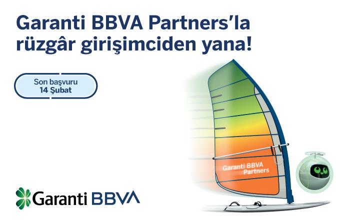 Garanti BBVA Partners Girişim Hızlandırma Programı İçin Son Başvuru Tarihi 14 Şubat