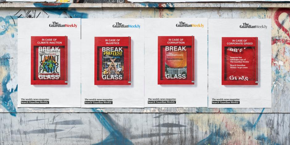 The Guardian Weekly'den Adaletsizliğe Karşı Dikkat Çekici Reklam Kampanyası