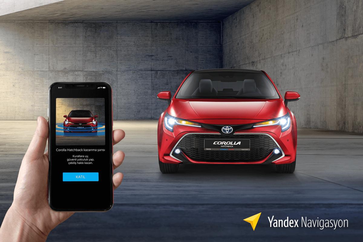 Yandex Navigasyon ve Toyota'dan İş Birliği