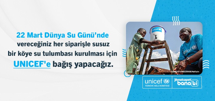 22 Mart Dünya Su Günü'nde; Banabi'den Çocukların Temiz Su İhtiyacına Destek