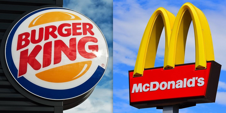 """Burger King McDonald's'a """"Kiralık"""" Tabelalarıyla Gönderme Yaptı"""