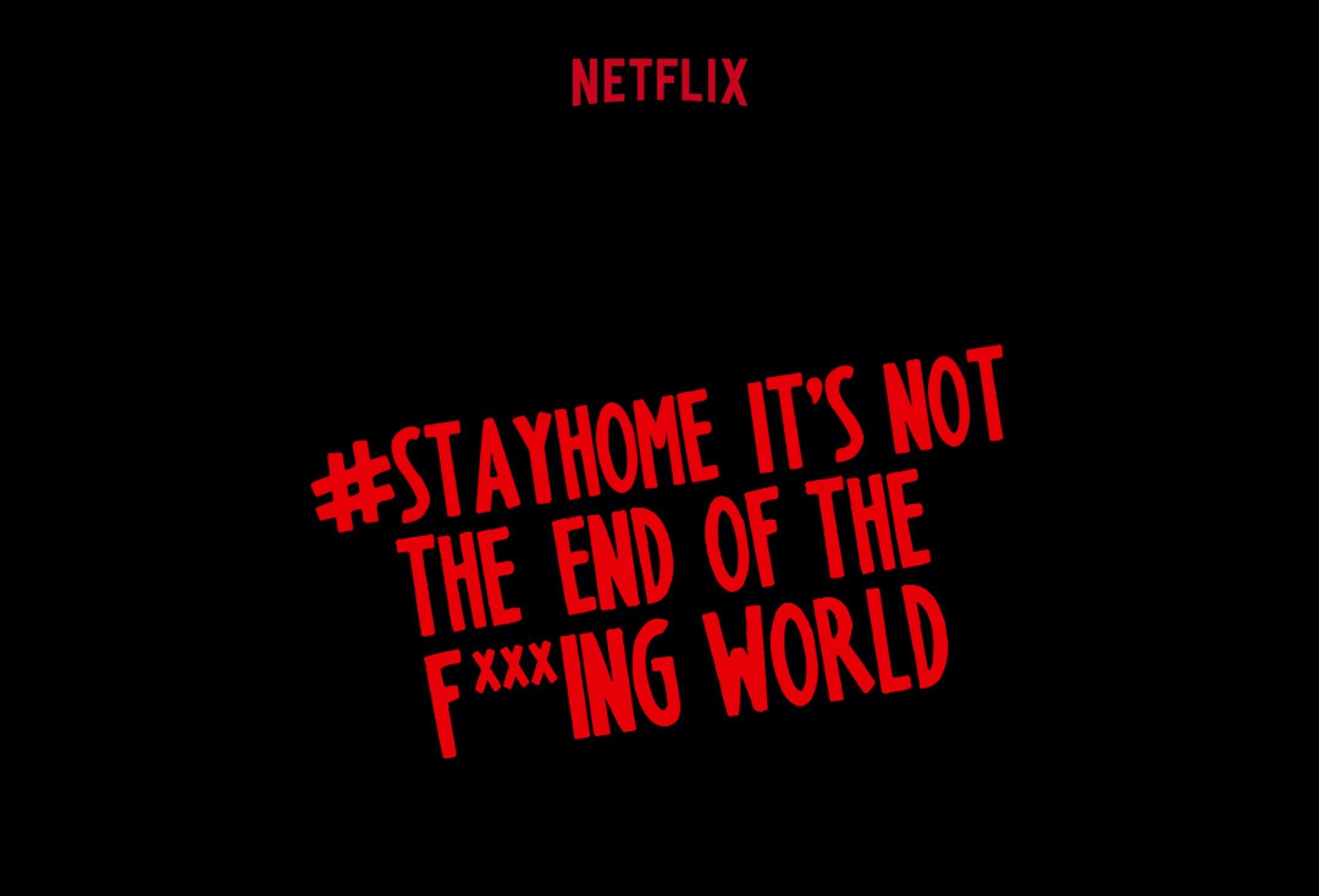 Netflix, Dizi İsimlerini Evde Kalmayı Telkin Eden Mesajlara Dönüştürdü