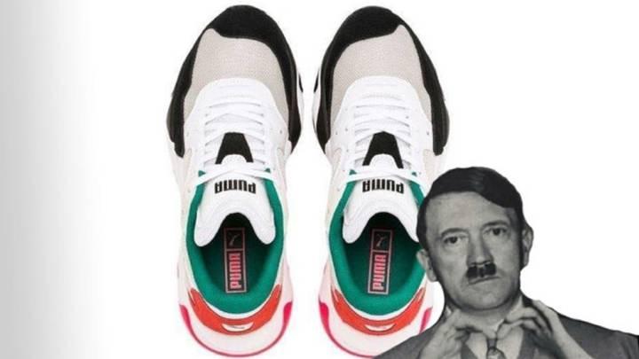 Puma'nın Ayakkabısı Adolf Hitler'e Benzetildi
