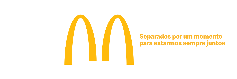 """McDonald's Brezilya, """"Sosyal Mesafeyi"""" Vurgulamak İçin Logosunu Değiştirdi"""