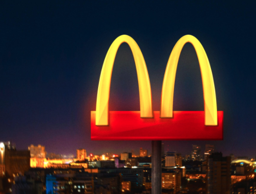 Sosyal Mesafe için Logosundaki Kemerleri Ayıran McDonald's Özür Diledi