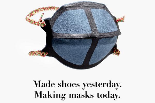 New Balance'tan Medikal Maske Üretimine Destek