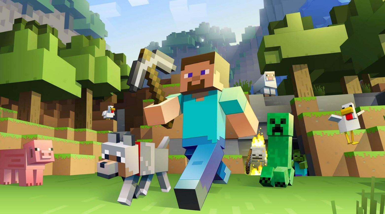 Minecraft'tan Salgın Temalı Oyun