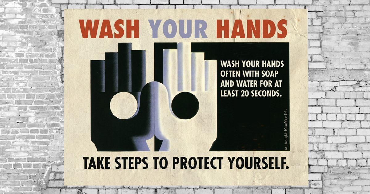 Eski Güvenlik Posterleri Corona Virüs İle Tekrar Yorumlanırsa