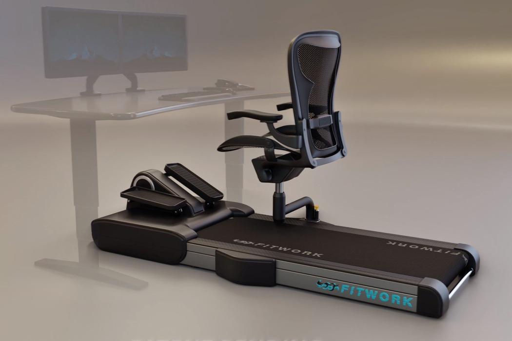 Çalışırken Egzersiz Yaptıran Ofis Sandalyesi
