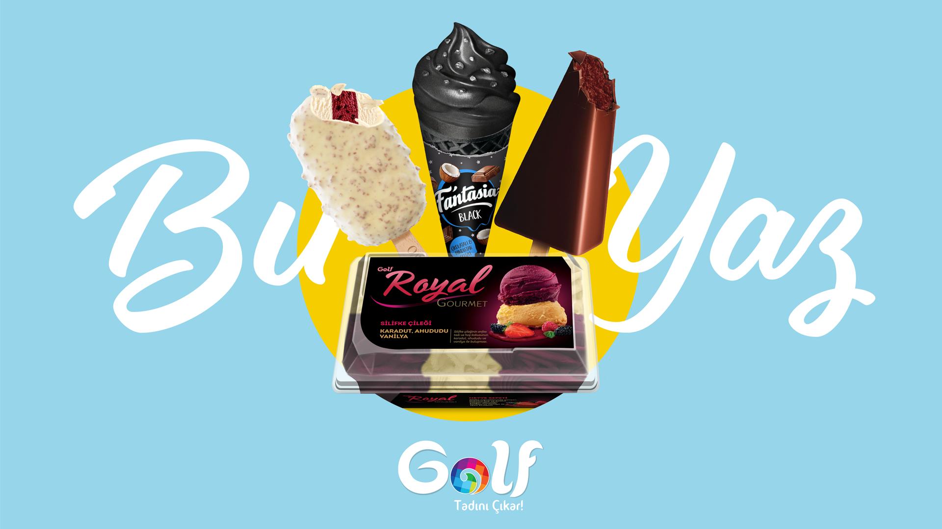 """Golf Dondurma """"Bu Yaz Bambaşka Olacak"""" Diyor"""