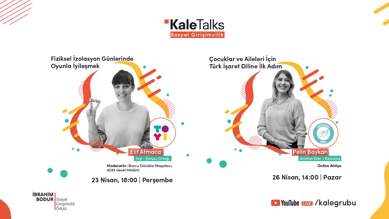 KaleTalks Sosyal Girişimcilik Serisi Başladı