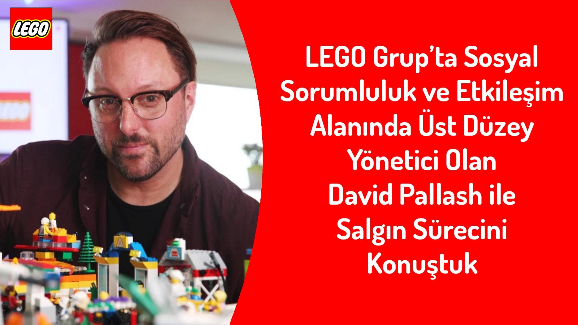 Lego ile Pandemi Döneminde Evdeki Ebeveynlere ve Çocuklara Destek Olmayı Konuştuk