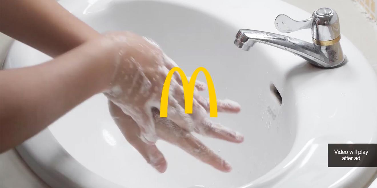 McDonald's'ın 120 Milyondan Fazla İzlenen El Yıkama Videosu