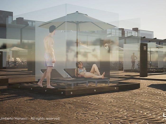 Sosyal Mesafeye Uyan Plaj Tasarımları