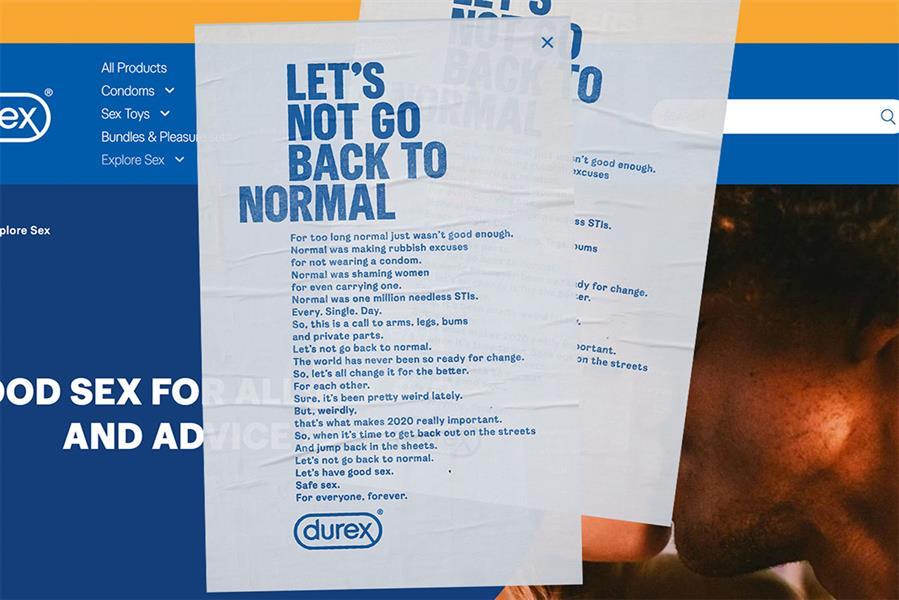 Durex 'Normale Dönmeyelim' Çağrısı Yaptı