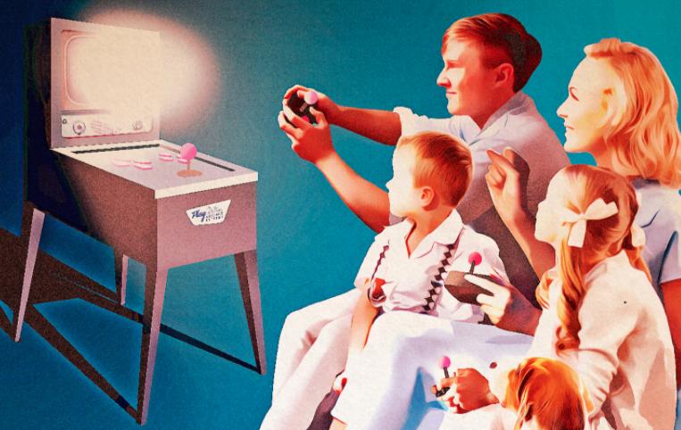 Günümüzdeki Teknolojik Ürünlerin Vintage Reklam Afişi Tasarımları