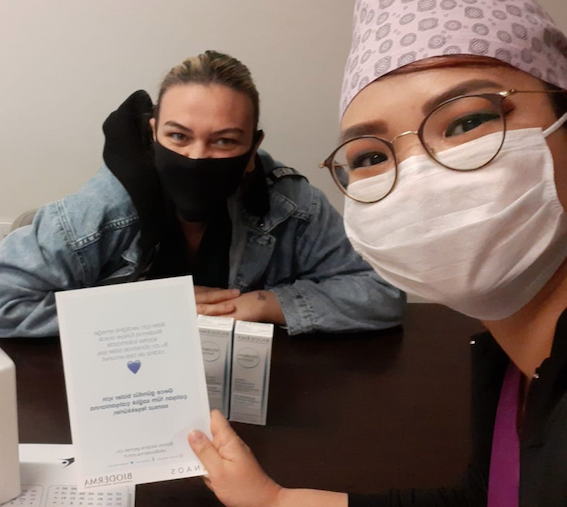 Bioderma'dan Sağlık Çalışanlarına Destek