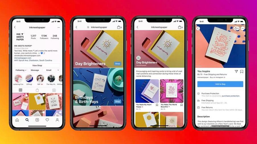 Facebook ve Instagram, İşletmelere Mağaza Açma İmkanı Sundu