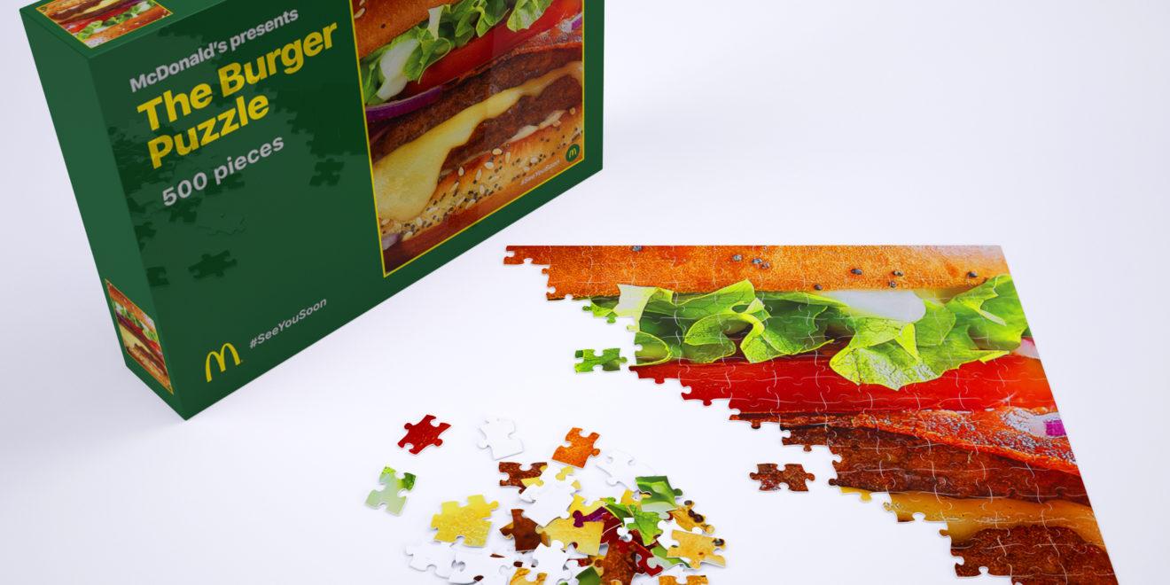 TBWA Belçika, McDonald's Hayranları İçin Hamburger Yap-Bozu Hazırladı