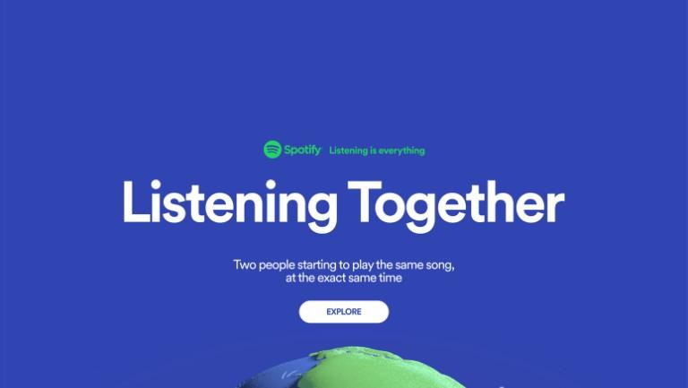 Spotify'da Sizinle Aynı Anda Aynı Şarkıyı Dinleyen Kişiyi Görebileceksiniz