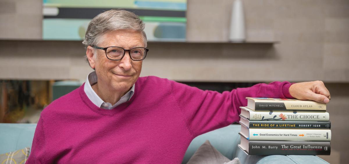 Bill Gates'ten Karantina İçin 5 Kitap Önerisi