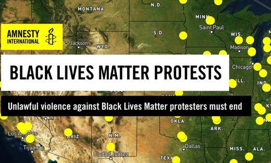 Polis Şiddetini Gösteren İnteraktif Harita