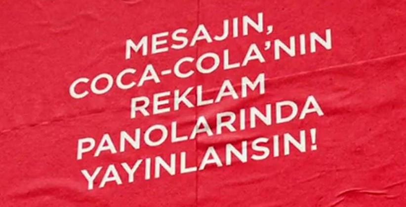 Coca-Cola, Gelecek Planlarını Reklam Panolarına Dönüştürüyor