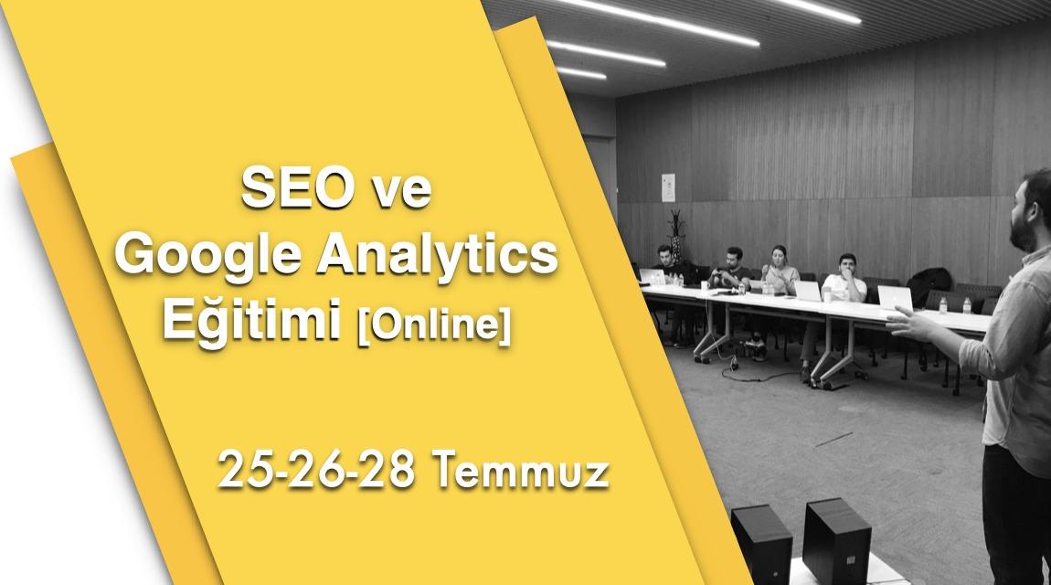 SEO ve Google Analytics Eğitimi [Online]