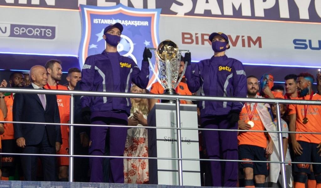 Getir, Başakşehir'in Kupa Getirme Sponsoru Oldu
