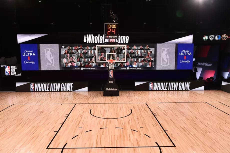 Microsoft ve NBA, Salonlara Sanal Taraftarlar Yerleştirmek İçin İş Birliği Yaptı