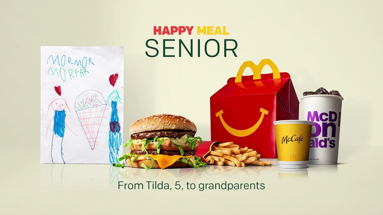 McDonald's'tan Yaşlılara Özel Menü