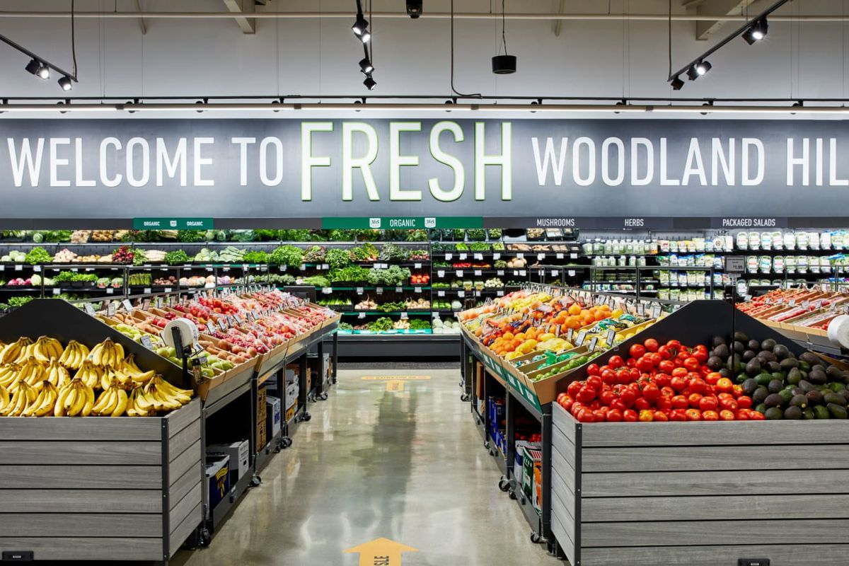 Amazon, İlk Amazon Fresh Marketini Los Angeles'ta Açtı