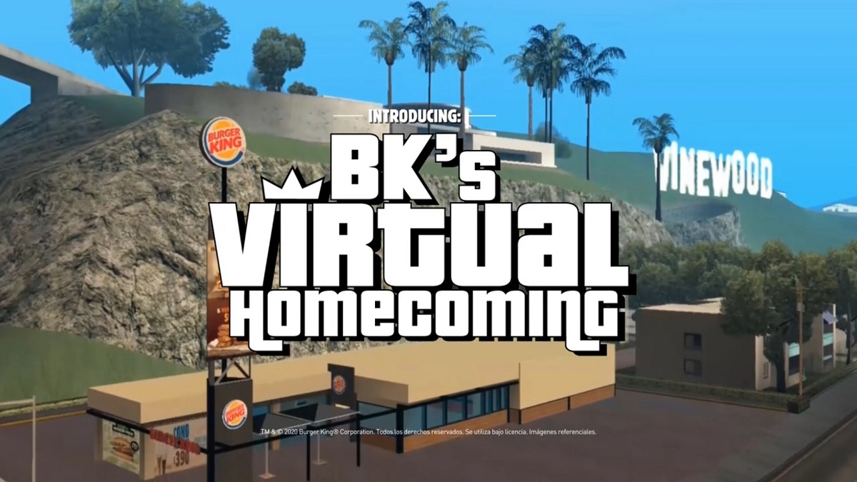 Burger King, Müşterilerini GTA Oyunundaki Şubesinde Ağırlıyor