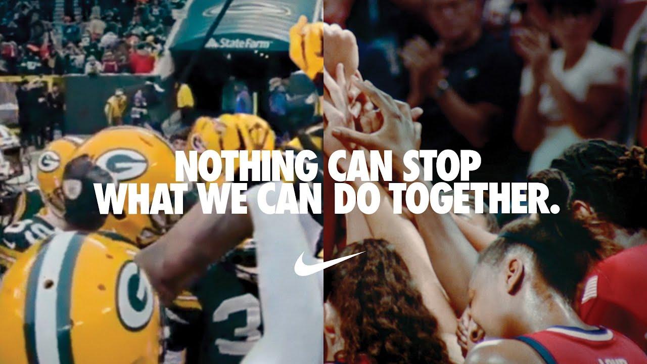Nike'ın Aynı Anda İki Görüntünün Gösterildiği Viral Reklamı
