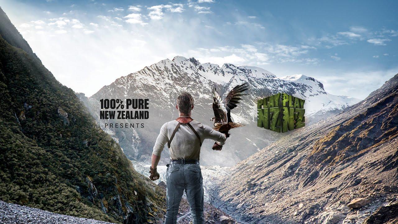 Yeni Zelanda, Turizm Kampanyası İçin Tüm Ülkeyi Oyun Alanına Dönüştürdü