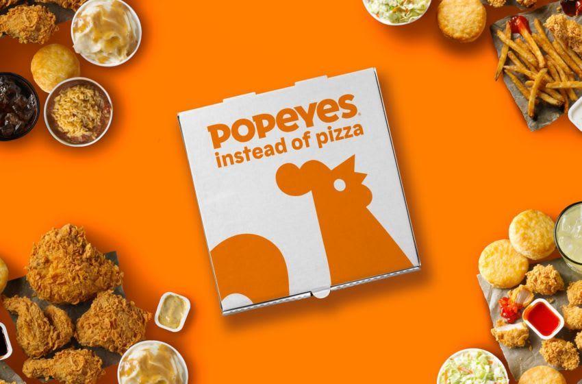 """Popeyes'ın Yeni Numarası: """"Pizza Yerine Popeyes"""""""