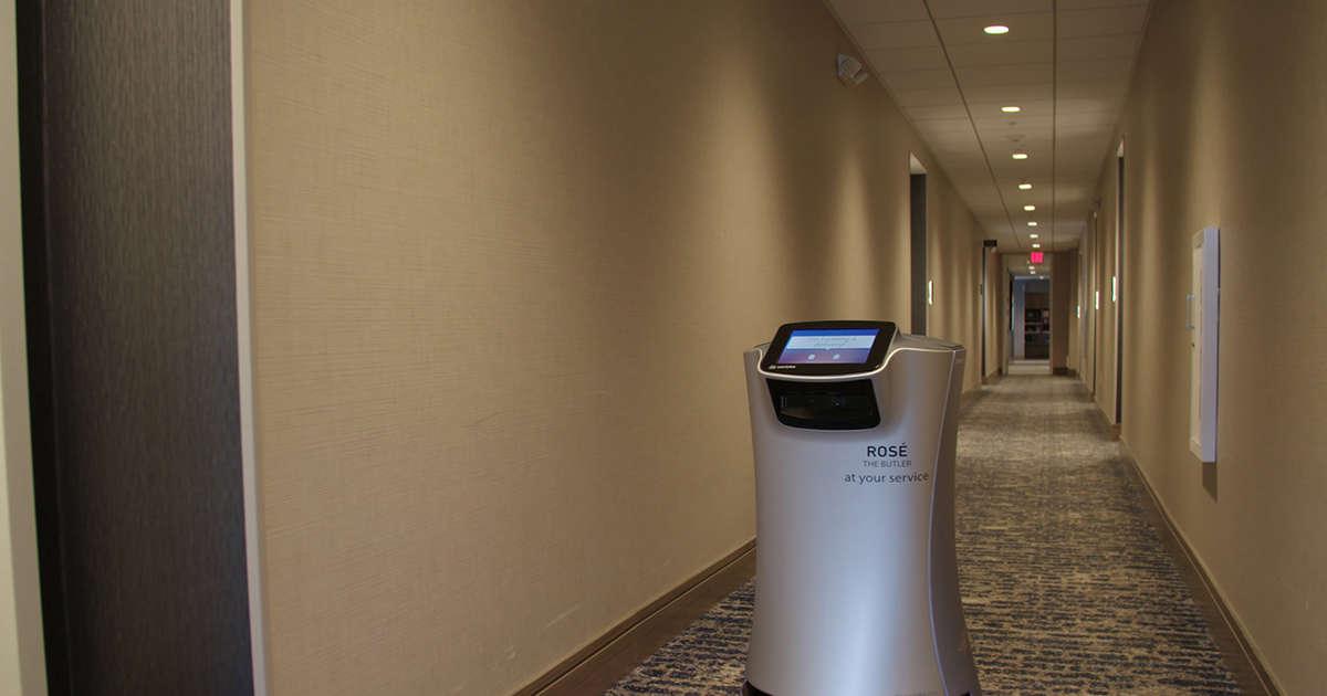 Otellerde Yeni Dönem: Oda Servisi Yapan Robotlar