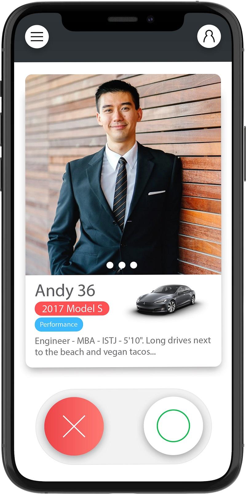 Tesla Sahipleri İçin Özel Flört Uygulaması