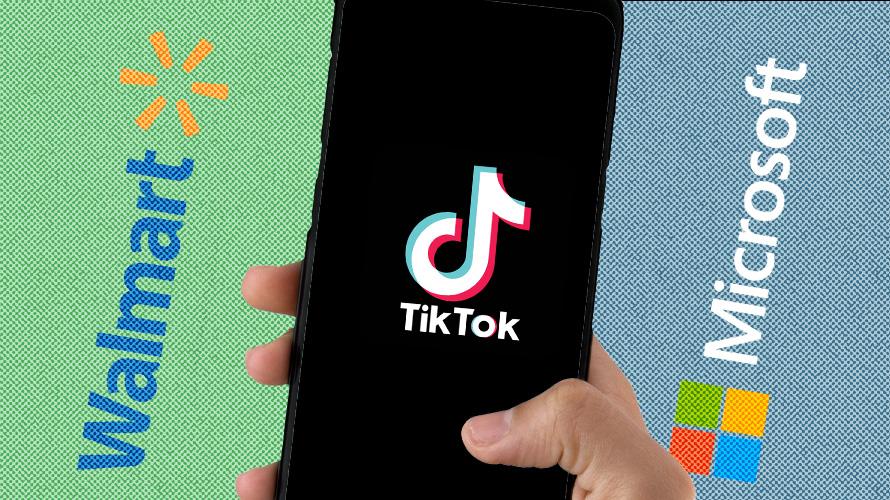 Walmart ve Microsoft, TikTok'u Satın Almak İçin Ortaklık Yapıyor